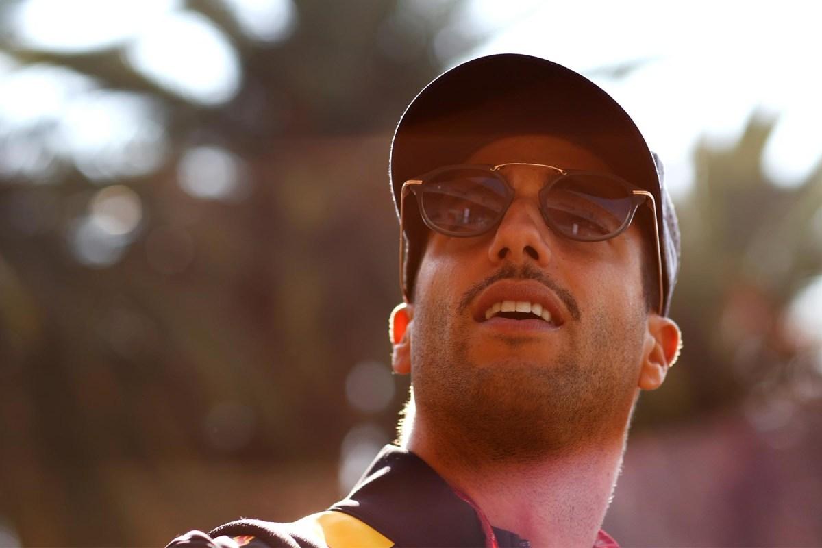 Daniel Ricciardo at the 2018 Mexican Grand Prix.
