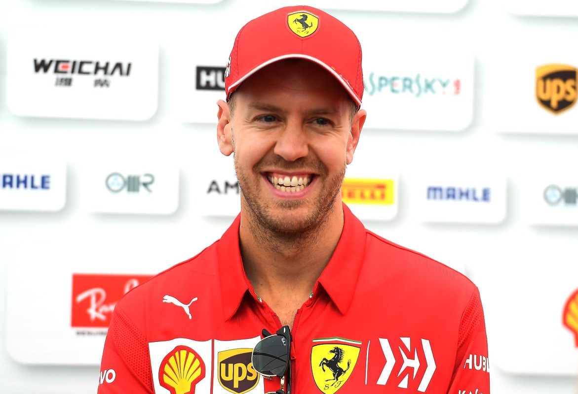 Sebastian Vettel at the Japanese Grand Prix