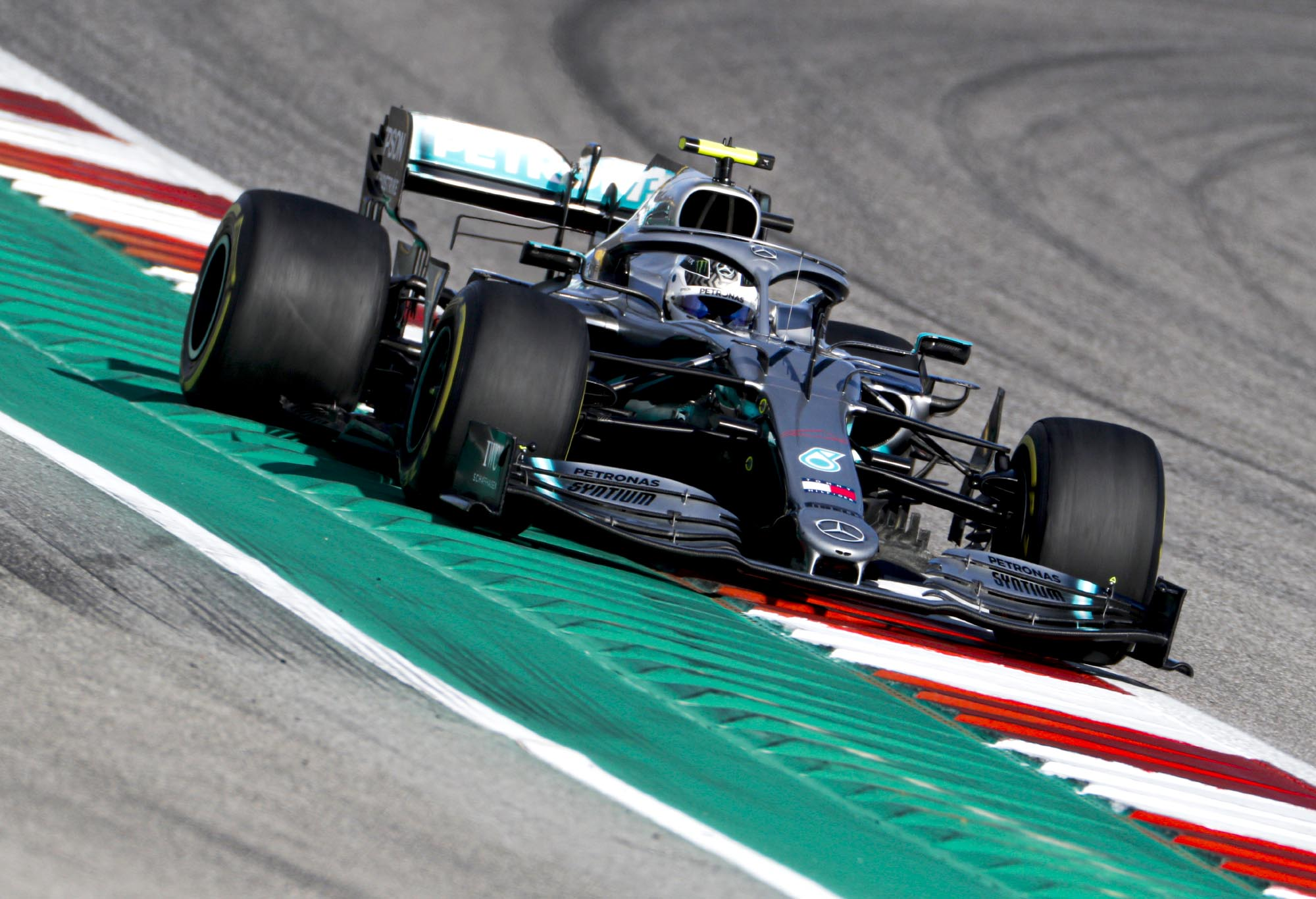 Valtteri Bottas on track at he 2019 United States Grand Prix