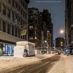 Snowy Broadway