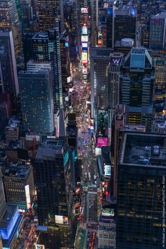 Aerial Times Square