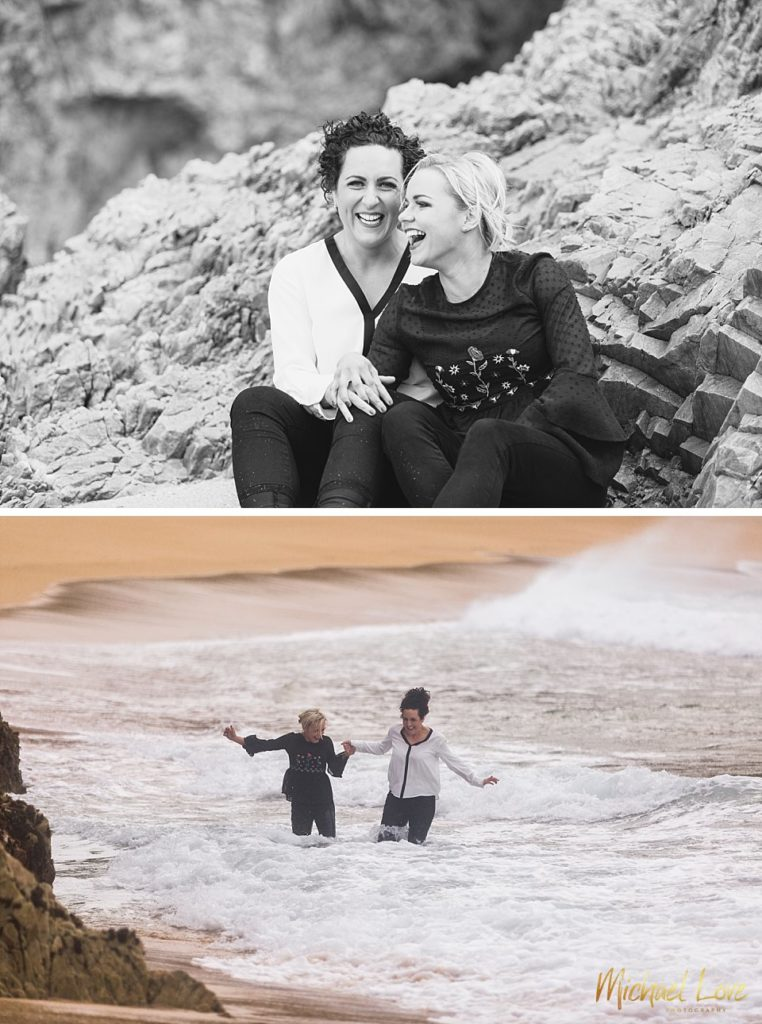 Beach Engagement Photos - Donegal