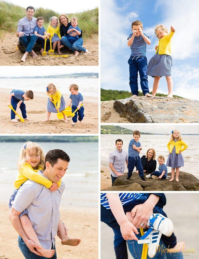 Beach Family Photos, Buncrana
