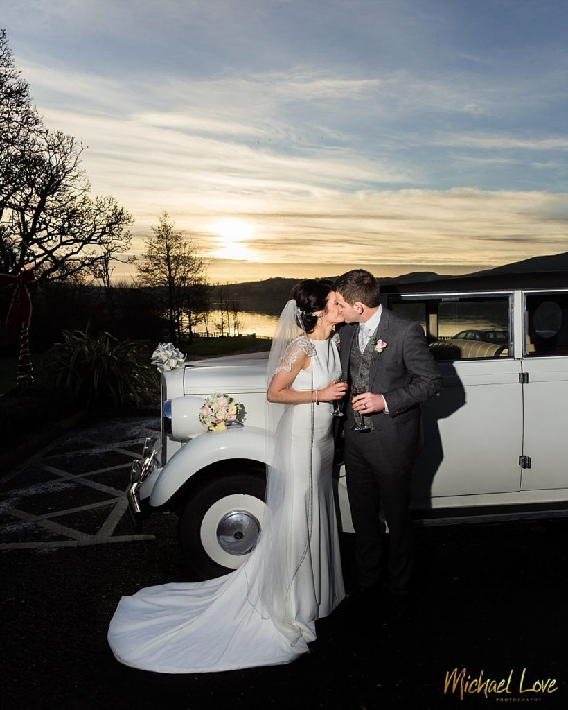 Winter Wedding - Red Door Hotel Donegal - Sinead + Ben