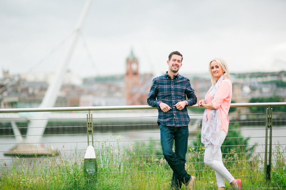 Ebrington Engagement Photos