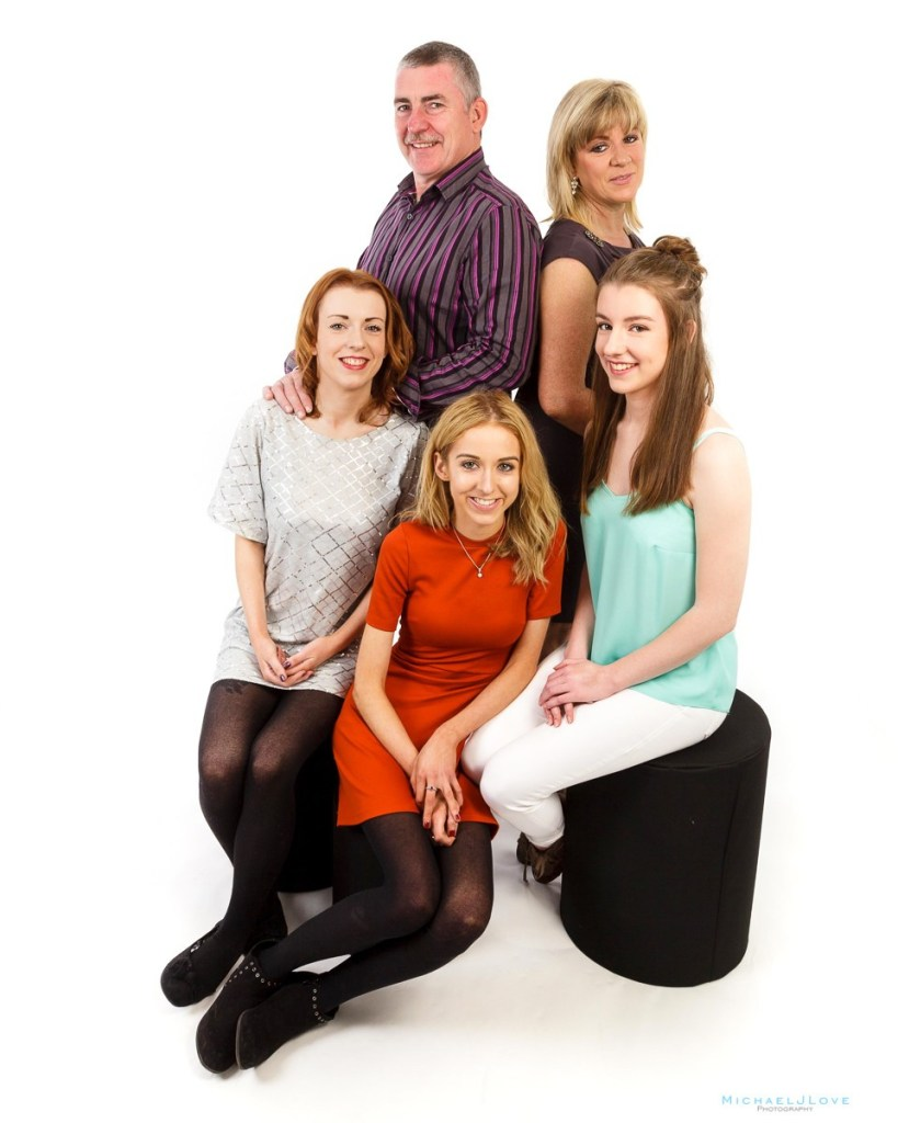 Studio Family Portraits, Derry Londonderry, O'Hara Family