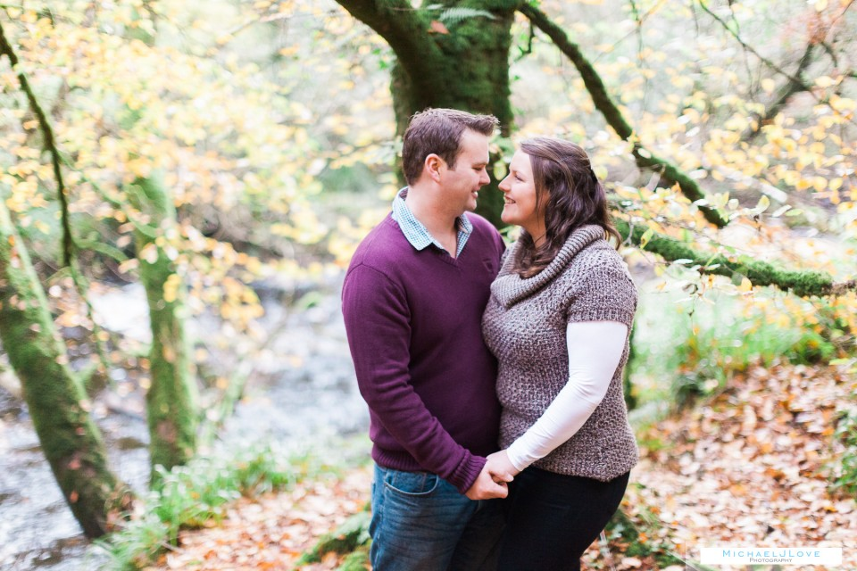 Ness Woods Engagement Photos - Heather & Phil