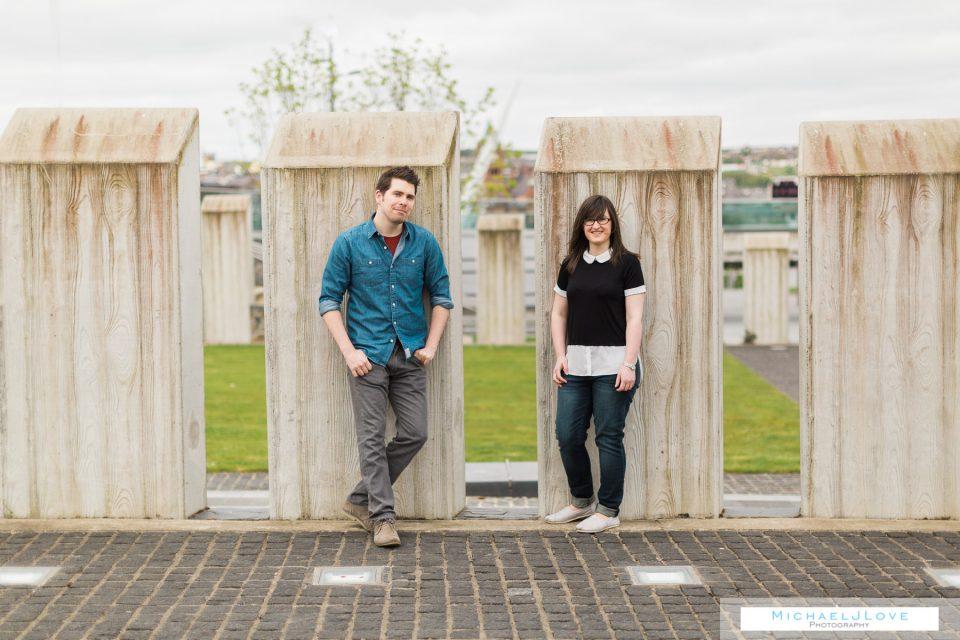 Ebrington Engagement - Kate & Dan