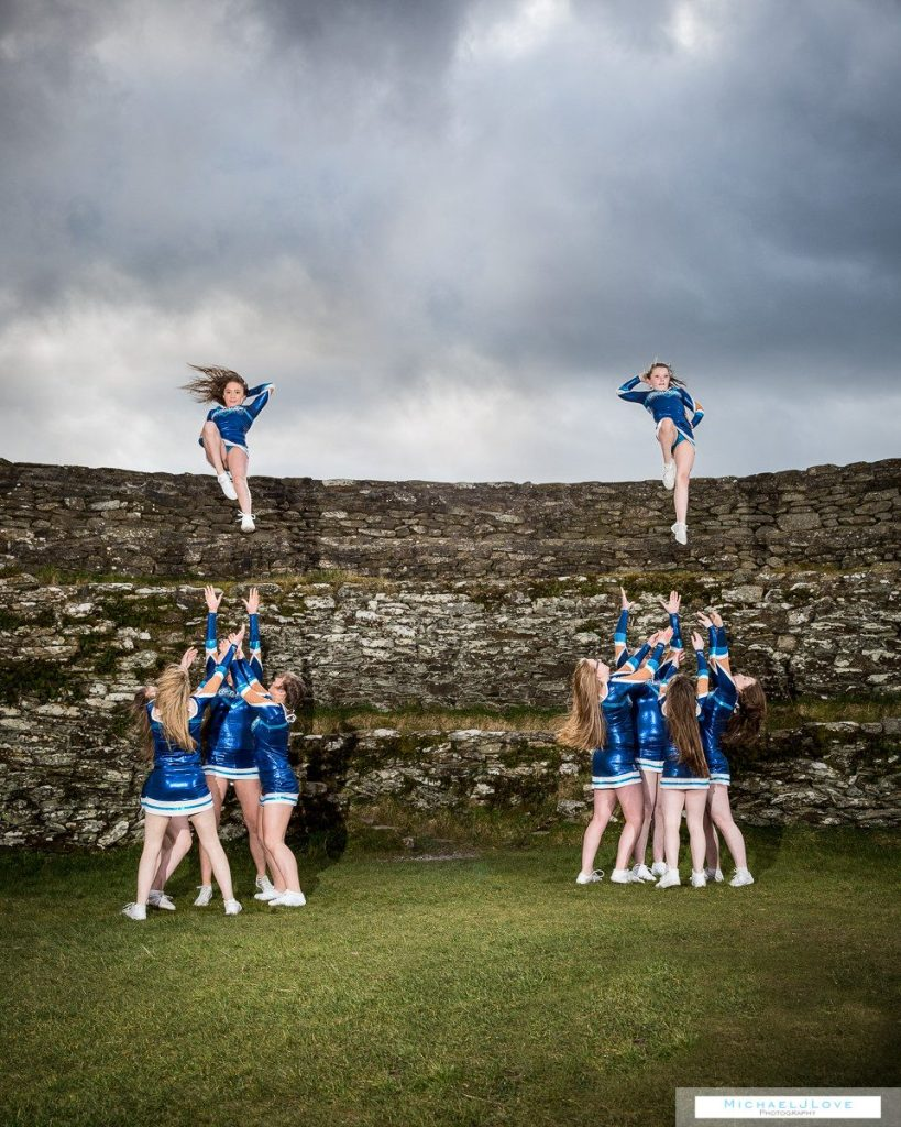 Cheerleaders Team Performing Photos - Galaxy Allstar Cheer at An Grianan