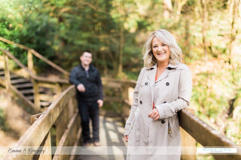 Ness Woods Engagement - Emma & Gregory