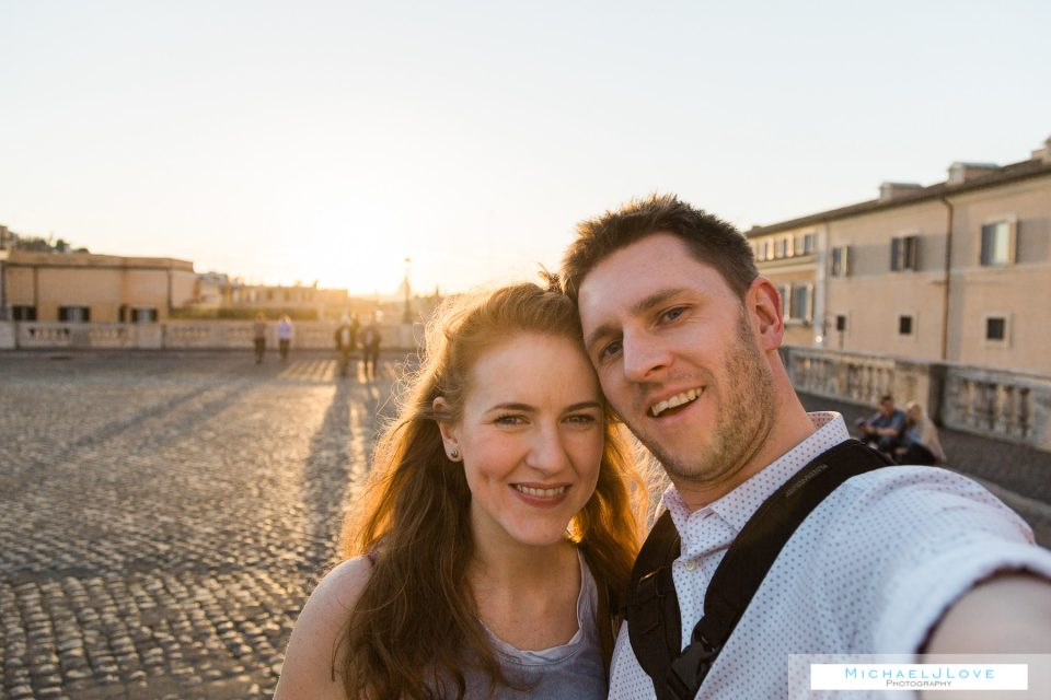 Visiting Rome to plan our wedding - Michael & Vanessa