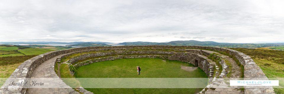 An Grianan Engagement Photos, Donegal - Sarah & Kevin