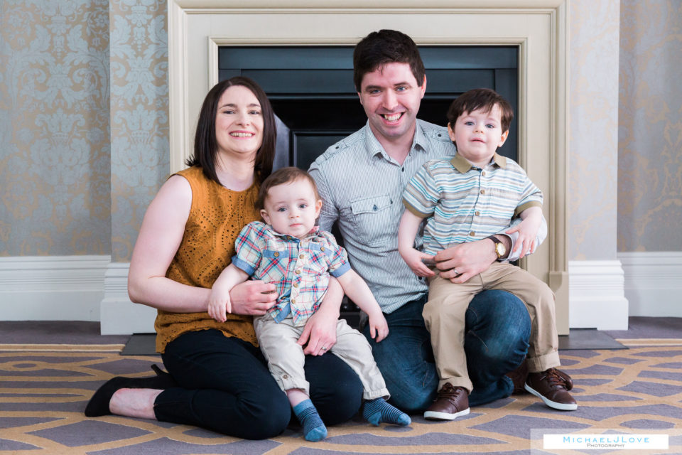 Family Portraits, Derry, Londonderry - Bowyer Family