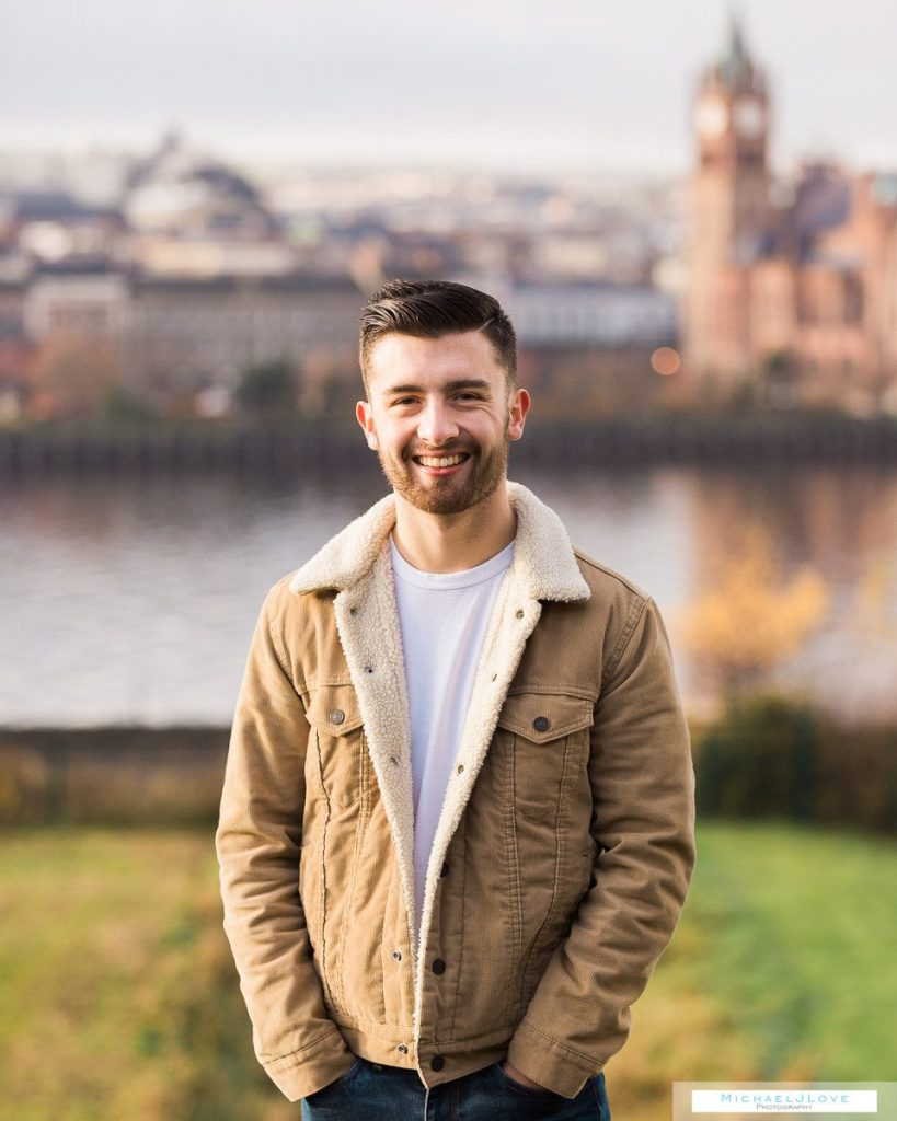 Outdoor Family Portraits - St Columb's Park, Derry - Galbraith Family