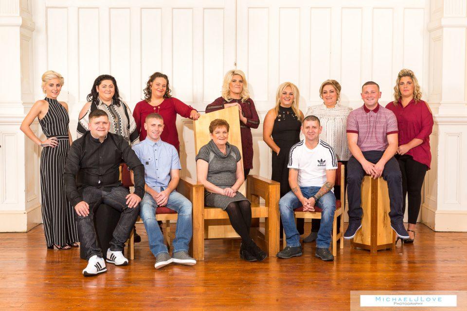 Derry family portraits - Burke Family