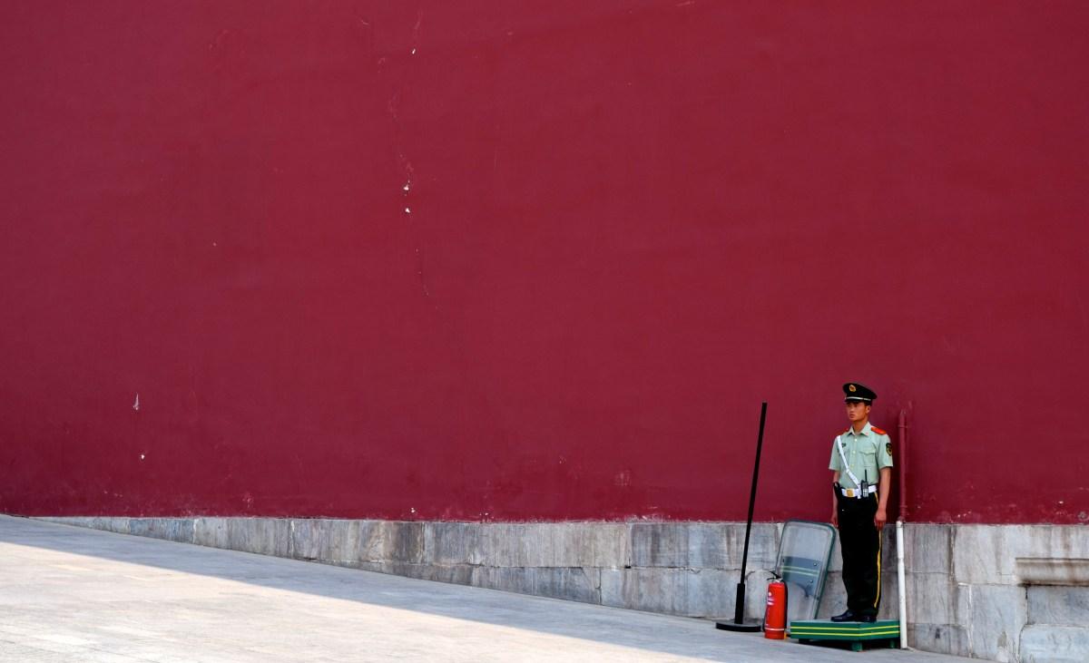 Forbidden City Soldier
