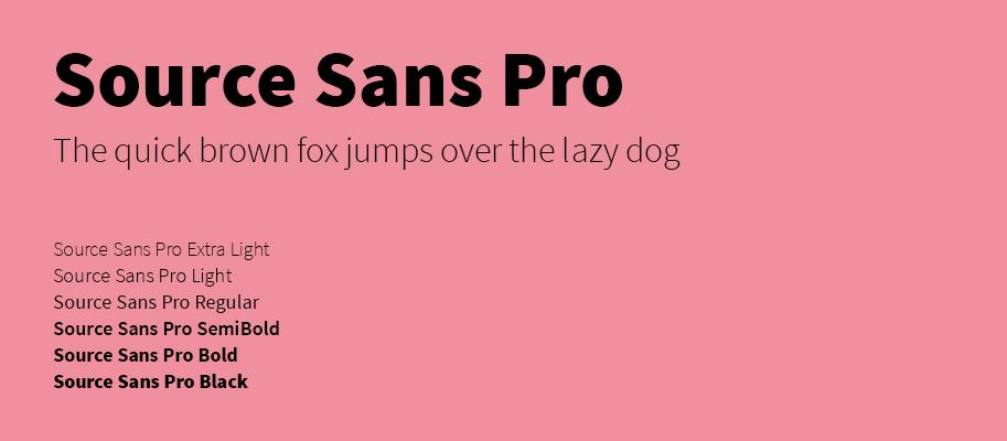 Source Sans Pro - Michael Lutjen