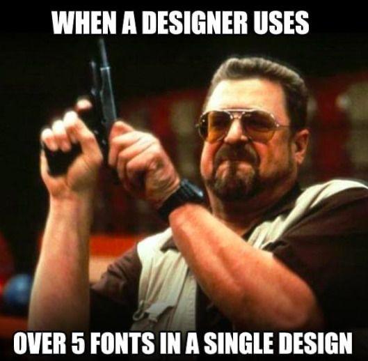 5 Fonts
