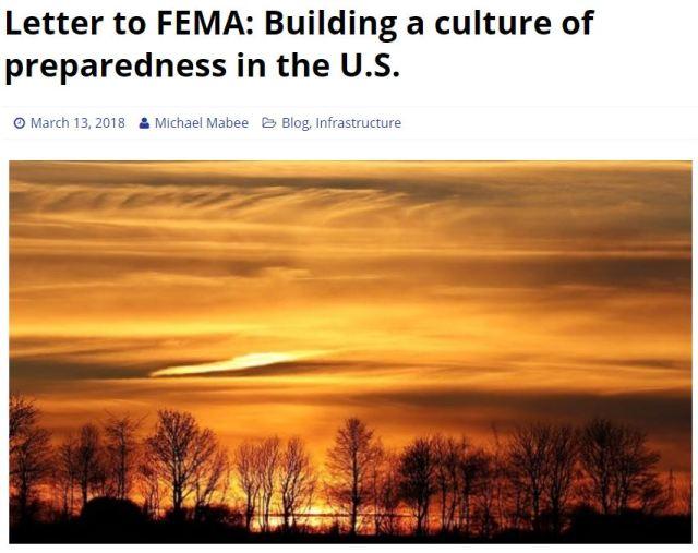 Building a Culture or Preparedness
