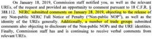 NERC CIP Violation Database