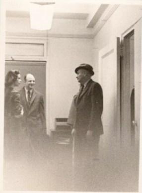 Chuck Saxon & Jim Geraghty  New Yorker Office
