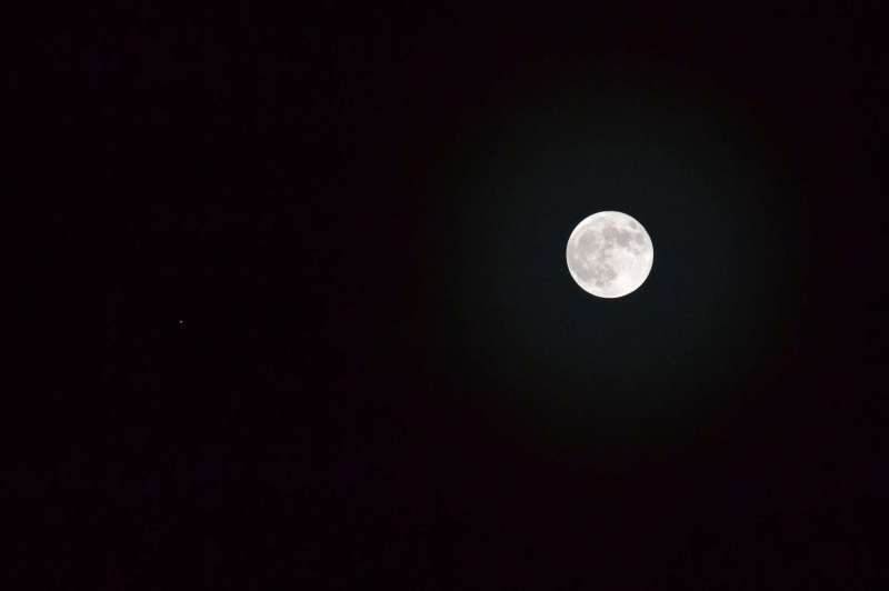 Moon & Jupiter 28th November 2012