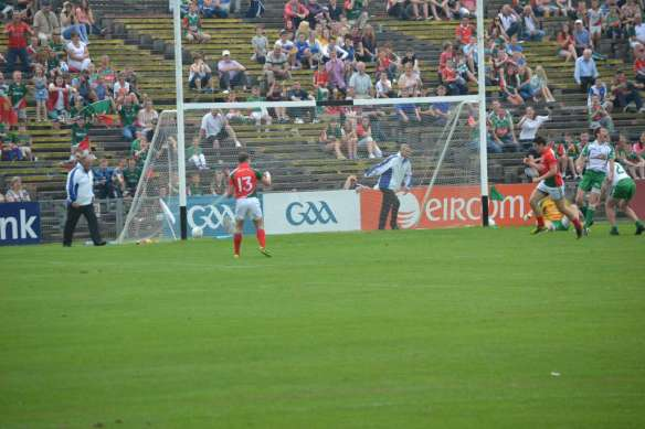 !st goal for Mayo by Alan Freeman in the Connacht Final 21st July 2013