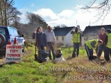 one million trees in one day with swinford tidy towns