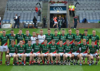 Mayo v Armagh Minor 3rd August 2014