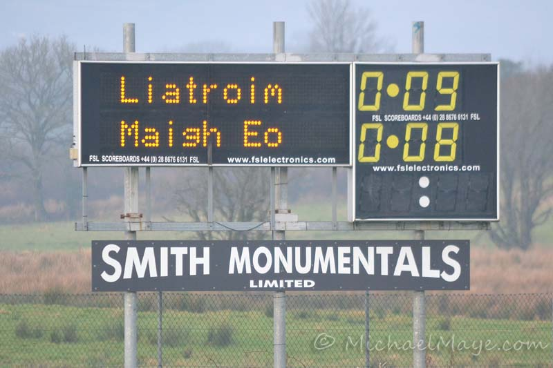 Leitrim v Mayo 13th January 2013