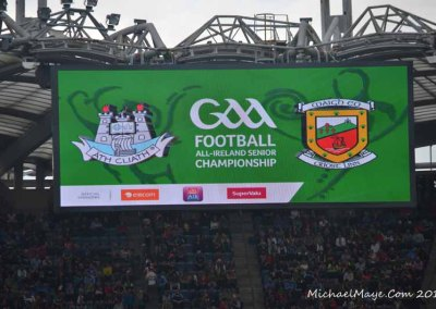 Mayo v Dublin Semi Final 2015