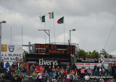 Mayo v Fermanagh 2B Qualifier 9th July 2016