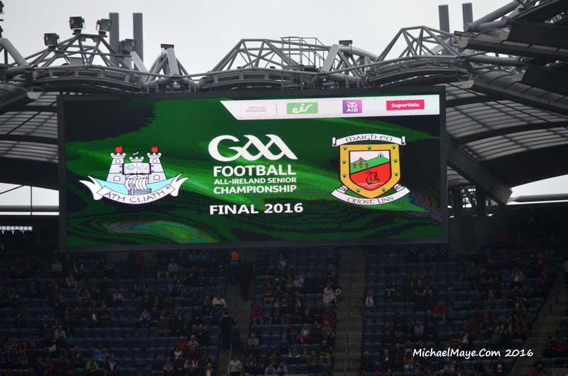All Ireland Final Mayo v Dublin 18th September 2016