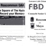 Roscommon v Mayo 22nd January 2017