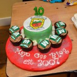 Mayo GAA Blog 10th birthday cake