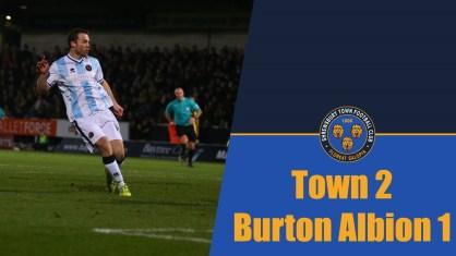 IMG_9670db0900h Salop score second goal at Burton 12604851_923291944428669_3276686637452211590_o