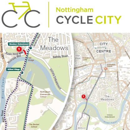 20160204 ab0658h Nottm cycle city southern corridor