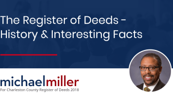 What is the Register of Deeds? | Michael Miller