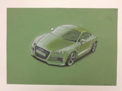 Canson Green Audi TT