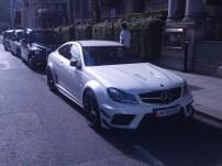 Mercedes Benz CL63 AMG Black