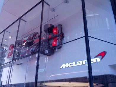 McLaren Showroom, Knightsbridge