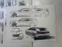 Sketch plus rear render