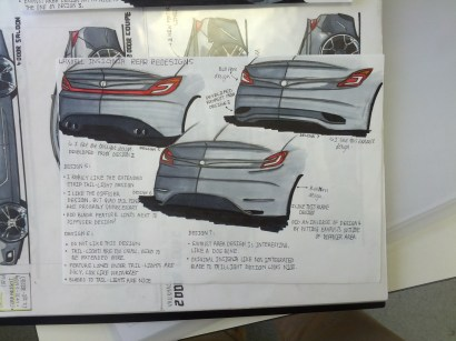 Insignia Rear Designs