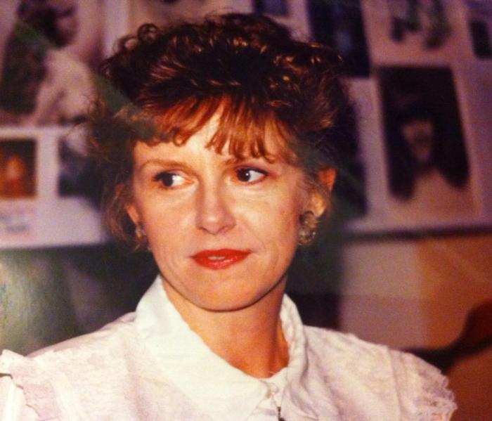 My Mother, When I was in High School