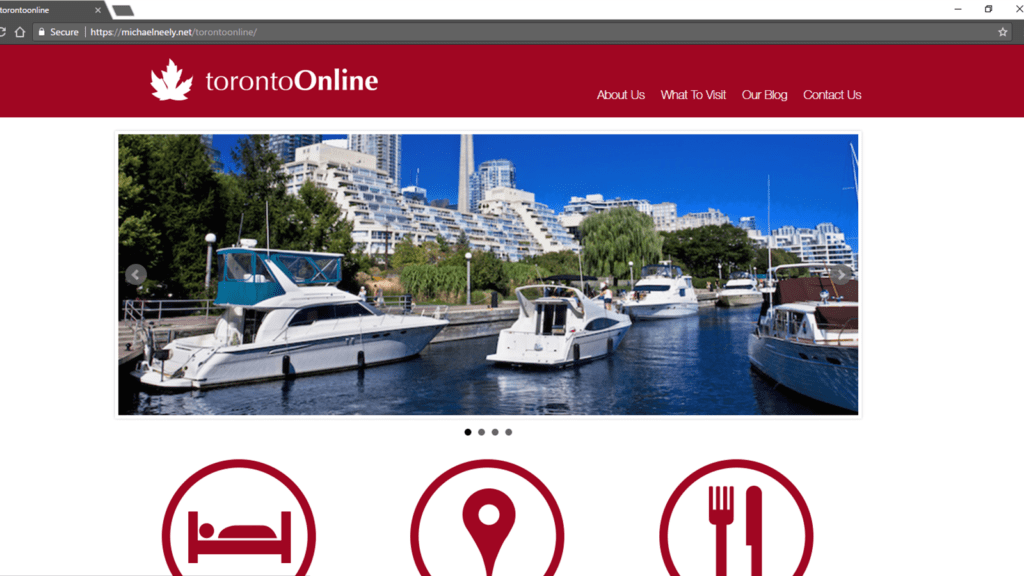 Toronto Online WordPress Theme
