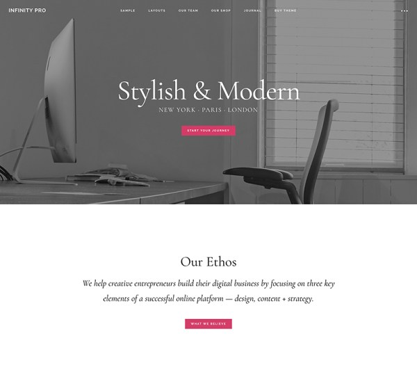 StudioPress Premium WordPress Theme Infinity Pro