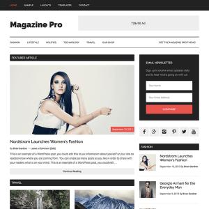 StudioPress Magazine Pro WordPress Theme