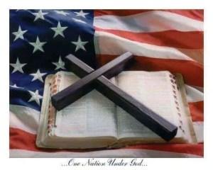 us-flag-and-bible-cross