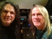 Michael with Steve Morse