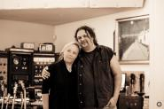 Kathy Boye and Michael Nitro at Electric Lotus Studio